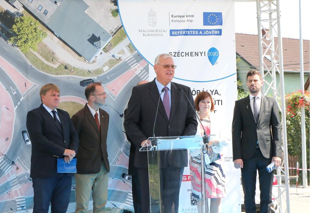 Dr. Aradszki András energiaügyért felelős államtitkár, Fotó: Boros Sándor