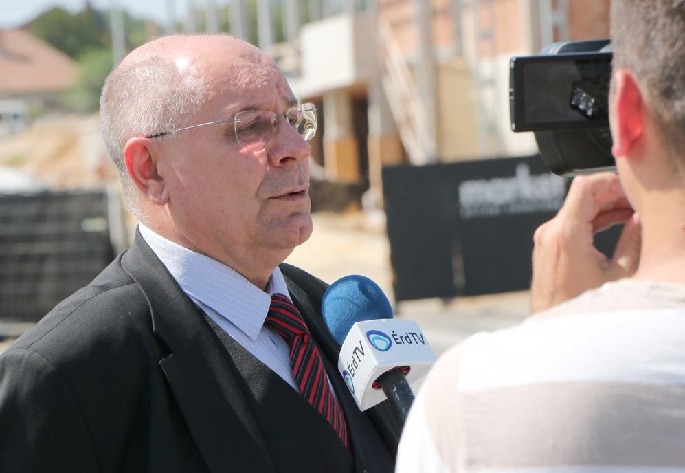 T. Mészáros András, Érd polgármestere Fotó: Boros Sándor