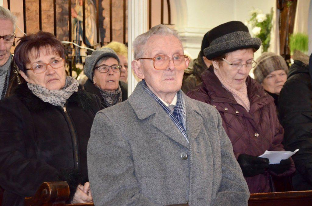 Az idei megemlékezést Nagy János, egyik tárnoki túlélő is megtisztelte részvételével.
